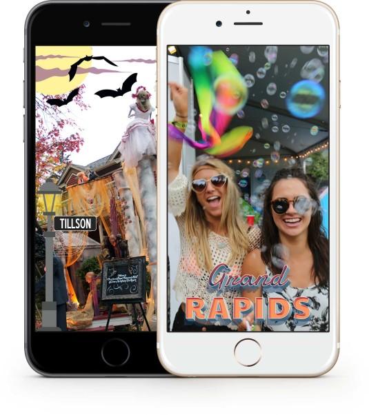 Snapchat Community Geofilters