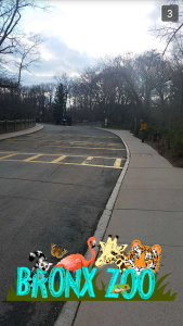 The Bronx Zoo Snapchat Geofilter