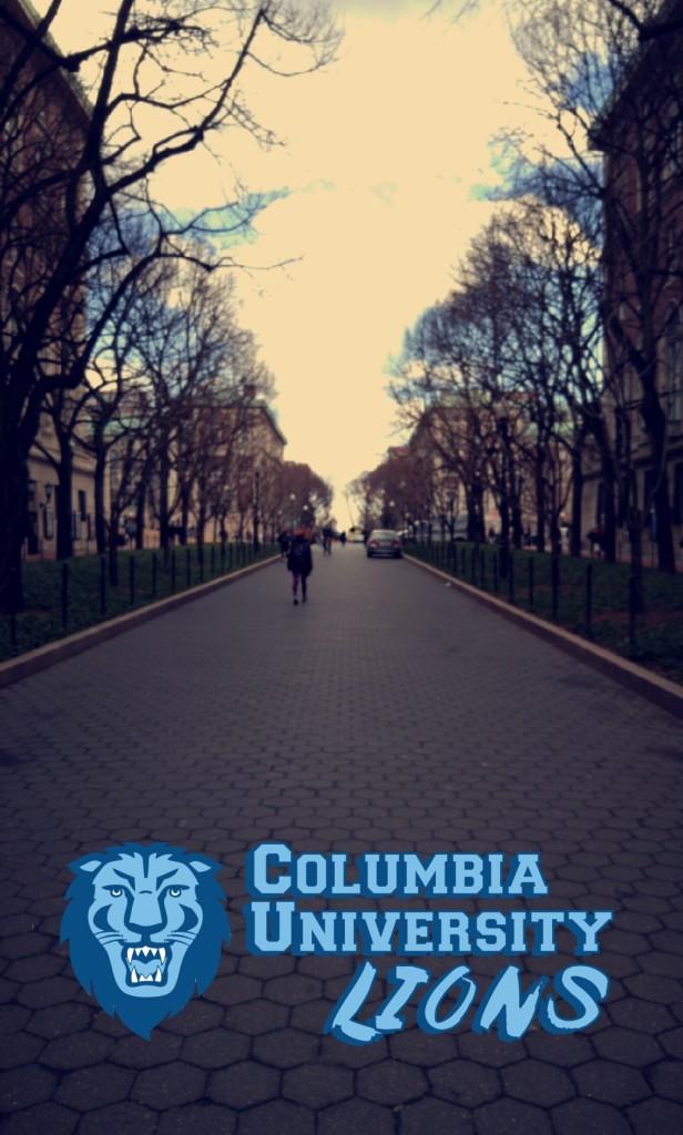 Columbia University Snapchat Geofilter
