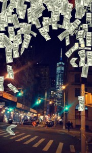 Raining Money Snapchat Geofilter