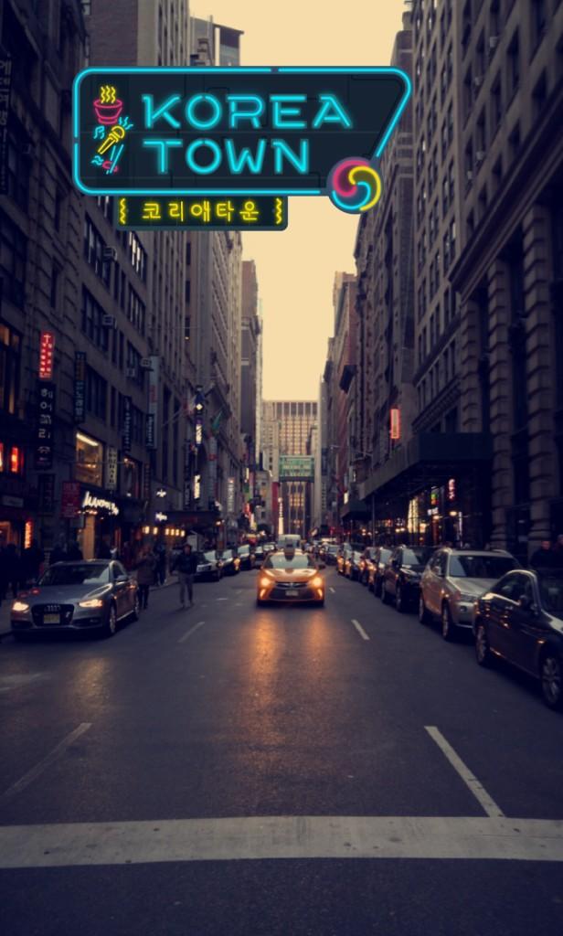 Koreatown Snapchat Geofilter