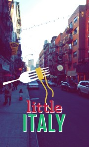 Little Italy Snapchat Geofilter