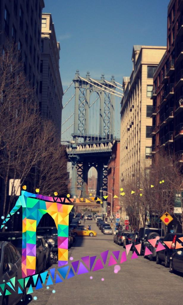 Manhattan Bridge Snapchat Geofilter