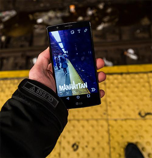 Manhattan Geofilter In the Subway