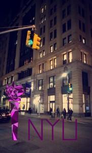 NYU Snapchat Geofilter